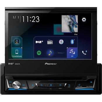 "Pioneer AVH-Z7200dab 1-DIN Multimedia Οθόνη Αφής 7"" Bluetooth Με Ανοιγόμενη Οθόνη"