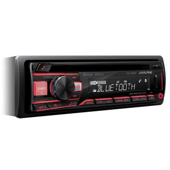 Alpine 1 Din Universal Radio USB CD με Bluetooth Θύρα AUX και Ενισχυτή Ισχύος 4 x 50 W CDE-203BT