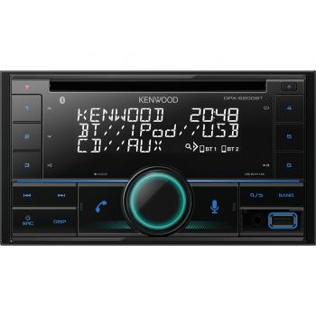 Kenwood 2-Din Radio USB CD με Bluetooth και Θύρα AUX DPX-5200BT