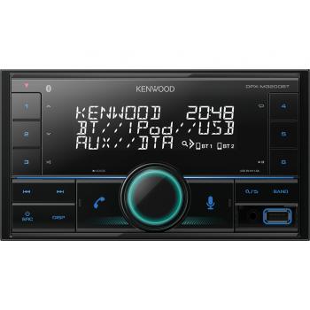 Kenwood 2-Din Radio USB CD με Bluetooth και θύρα AUX DPX-M3200BT