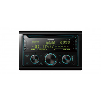 Pioneer 2-Din Radio USB CD με Bluetooth και Θύρα AUX FH-S720BT