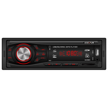 Gear Radio USB χωρίς CD με Θύρα AUX και SD Κάρτα GR-100P