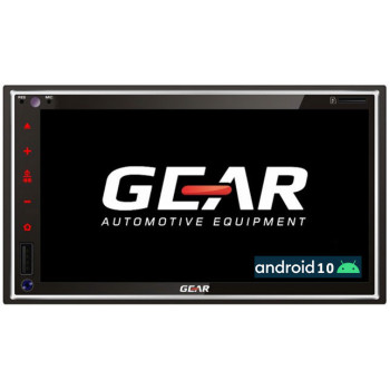 Gear Οθόνη Multimedia Αυτοκινήτου 2 Din 6.9'' με GPS Bluetooth iOS και Android Mirroring GR-AV90BT