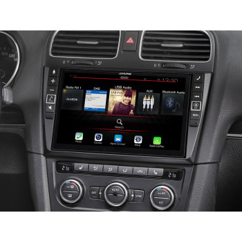"Alpine Style 9"" Mobile Media System Ειδικά Σχεδιασμένη για Golf VI Συμβατή με Apple CarPlay και Android Auto i902D-G6"