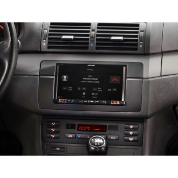 "Alpine Style 7"" Mobile Media System Ειδικά Σχεδιασμένη για BMW E46 Συμβατή με Apple CarPlay και Android Auto ILX-702E46"