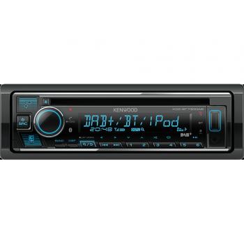 Kenwood 1 Din Universal Radio USB CB με Bluetooth Θύρα AUX Δέκτη DAB και Ενισχυτή Ισχύος 4 x 50 W KDC-BT730DAB