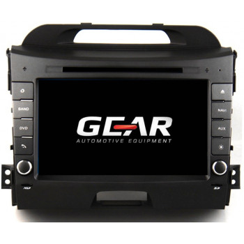 Gear 8 Ιντσών Οθόνη Εργοστασιακού Τύπου για KIA Sportage 2015 με Bluetooth WiFi και MirrorLink KIA09