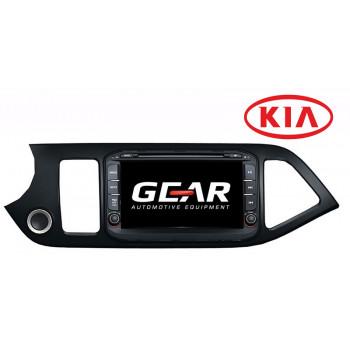 Gear 8 Ιντσών Οθόνη Εργοστασιακού Τύπου για KIA Picanto με Bluetooth WiFi και MirrorLink KIA10