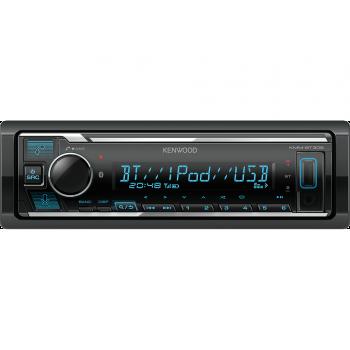 Kenwood 1 Din Universal Radio USB με Bluetooth Θύρα AUX και Ενισχυτή Ισχύος 4 x 50 W KMM-BT306