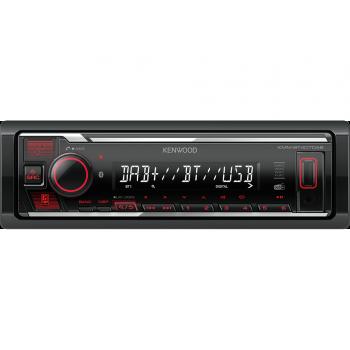 Kenwood 1 Din Universal Radio USB με Bluetooth AUX Δέκτη DAB και Ενισχυτή Ισχύος 4 x 50 W KMM-BT407DAB