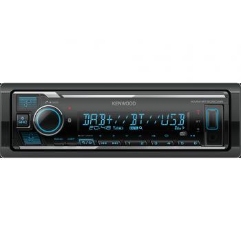 Kenwood 1 Din Universal Radio USB με Bluetooth AUX Δέκτη DAB και Ενισχυτή Ισχύος 4 x 50 W KMM-BT506DAB