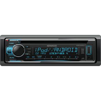 Kenwood 1 Din Universal Radio USB CD με Θύρα AUX και Ενισχυτή Ισχύος 4 x50 W KDC-210UI