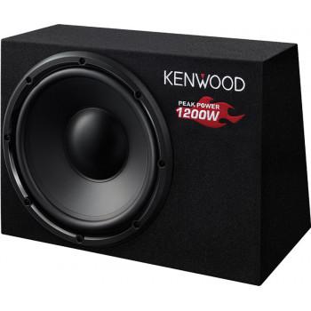Kenwood Παθητικό 30cm Subwoofer Αυτοκινήτου 1200 Watt Με Κουτί KSC-W1200B