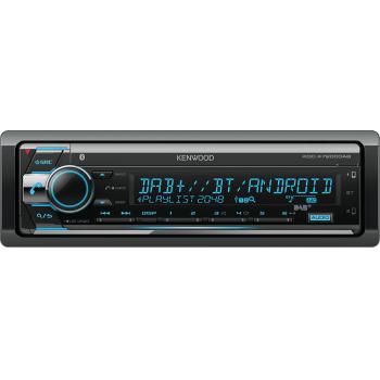 Kenwood 1 Din Universal Radio USB CD με Bluetooth Θύρα AUX Δέκτη DAB και Ενισχυτή Ισχύος 4 x 50 W KDC-X7200DAB