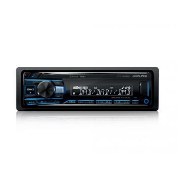 Alpine 1 Din Universal Radio USB με Bluetooth Θύρα AUX και Ενισχυτή Ισχύος 4 x 50 W UTE-204DAB