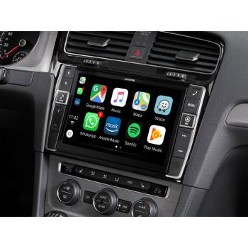 Alpine Style 9'' Οθόνη Εργοστασιακού Τύπου Ειδικά Σχεδιασμένη για Golf VII με Navigation Συμβατή με Apple Car Play και Android Auto X903D-G7