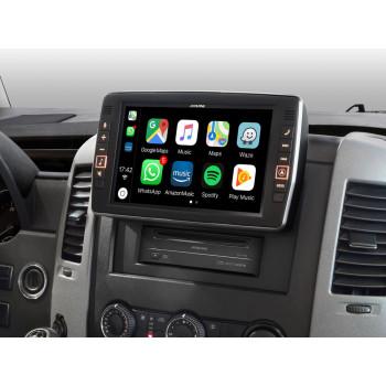 Alpine Style 9'' Οθόνη Εργοστασιακού Τύπου Ειδικά Σχεδιασμένη για Mercedes Sprinter S906 με Navigation Συμβατή με Apple Car Play και Android Auto X903D-S906
