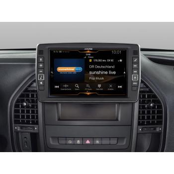 Alpine Style 9'' Οθόνη Εργοστασιακού Τύπου Ειδικά Σχεδιασμένη για Mercedes Vito 447 με Navigation Συμβατή με Apple Car Play και Android Auto X903D-V447
