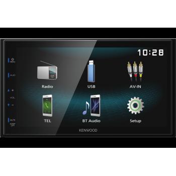 "Kenwood Οθόνη Multimedia Αυτοκινήτου 2 DIN 6.8"" με USB Μirorring Android και Bluetooth"