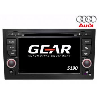 Gear 7'' Οθόνη Εργοστασιακού Τύπου για Audi A4 με Navigation Bluetooth και WiFi Q050i (S190)