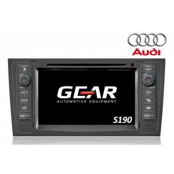Gear 7 Ιντσών Οθόνη Εργοστασιακού Τύπου για Audi A6 με Navigation Bluetooth και WiFi Q102I (S190)