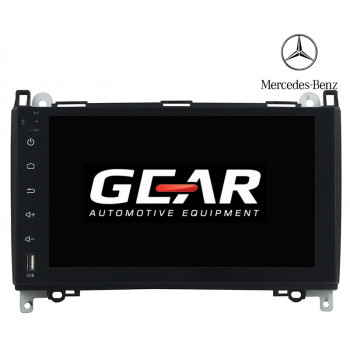 Gear 8 Ιντσών Οθόνη Εργοστασιακού Τύπου για Mercedes A/B Class Vito Viano με Navigation Bluetooth και WiFi MERC01