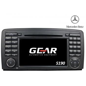Gear 7 Ιντσών Οθόνη Εργοστασιακού Τύπου για  Mercedes R Class με Navigation Bluetooth και WiFi Q215I