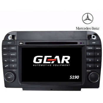 Gear 7 Ιντσών Οθόνη Εργοστασιακού Τύπου για Mercedes S-Class W220 με Navigation Bluetooth και WiFi Q220I