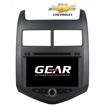Gear 9 Ιντσών Οθόνη Εργοστασιακού Τύπου για Chevrolet Aveo με Navigation Bluetooth και WiFi CHEV02 (2011)