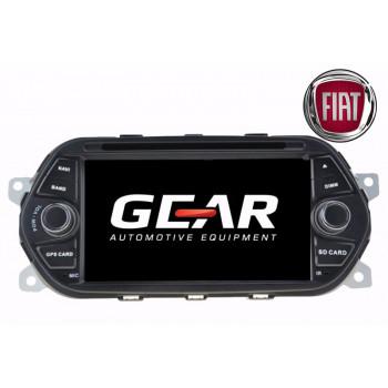 Gear 7 Ιντσών Οθόνη Εργοστασιακού Τύπου για Fiat Tipo με Navigation Bluetooth και WiFi FIA02