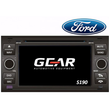Gear 7 Ιντσών Οθόνη Εργοστασιακού Τύπου για Ford Focus I με Navigation Bluetooth και WiFi Q140I S190