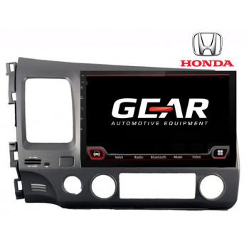 Gear 7 Ιντσών Οθόνη Εργοστασιακού Τύπου Χωρίς CD για Honda Civic 4DC με Navigation Bluetooth και WiFi HON03