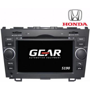Gear 7 Ιντσών Οθόνη Εργοστασιακού Τύπου για Honda CRV με Navigation Bluetooth και WiFi Q009I (S190)
