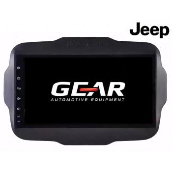 Gear 9 Ιντσών Οθόνη Εργοστασιακού Τύπου για Jeep Renegade με Navigation Bluetooth και WiFi JE03