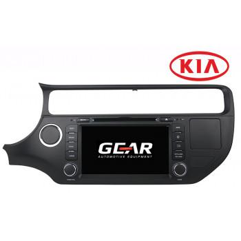 Gear 8 Ιντσών Οθόνη Εργοστασιακού Τύπου για KIA Rio με Navigation Bluetooth και WiFi KIA05