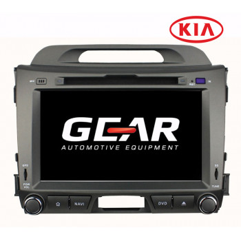 Gear 8 Ιντσών Οθόνη Εργοστασιακού Τύπου για Kia SPORTAGE 2011> με Navigation Bluetooth και WiFi KIA07