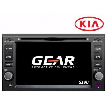 Gear 7 Ιντσών Οθόνη Εργοστασιακού Τύπου για KIA Universal με Navigation Bluetooth και WiFi Q023I