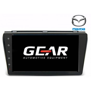 Gear 9 Ιντσών Οθόνη Εργοστασιακού Τύπου για MAZDA 3 με Navigation Bluetooth και WiFi MAZ02