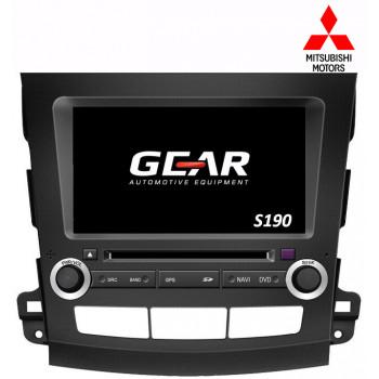 Gear 8 Ιντσών Οθόνη Εργοστασιακού Τύπου για Mitsubishi Outlander με Navigation Bluetooth και WiFi Q056I