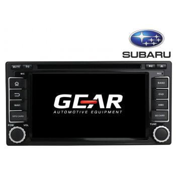 Gear 6.2 Ιντσών Οθόνη Εργοστασιακού Τύπου για Subaru Forester και Impreza με Navigation Bluetooth και WiFi SUB01