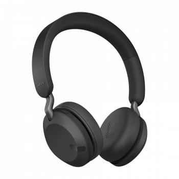 Jabra Ασύρματα Bluetooth Aκουστικά 45h Titanium Black