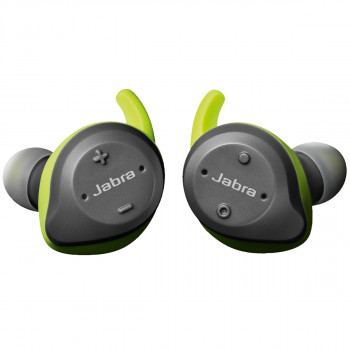 Jabra Ασύρματα Bluetooth Aκουστικά Elite Sport Lime Green Grey
