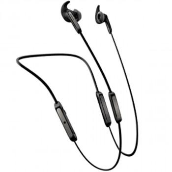 Jabra Ασύρματα Bluetooth Neckband Aκουστικά Elite 45e Titanium Black