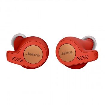 Jabra Ασύρματα Bluetooth Aκουστικά Elite Active 65t Copper Red