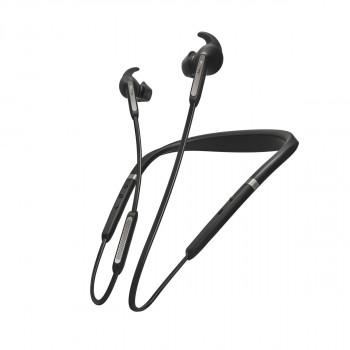 Jabra Ασύρματα Bluetooth Halo Aκουστικά Elite Active 65e Titanium Black