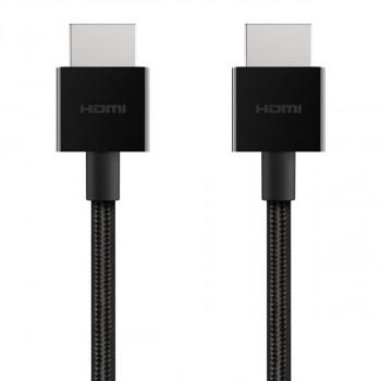 Belkin Πανίσχυρο Καλώδιο Ultra HD 4K HDMI 2.1 Cable 1m Black