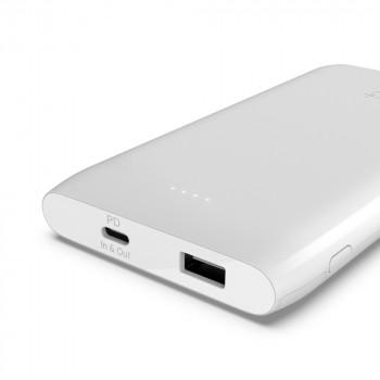 Belkin Boost Charge Φορητό Power Bank Άσπρο POWER BANK 10000mAh με διπλή έξοδο USB-C και USB-A