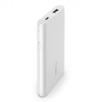 Belkin Boost Charge Φορητό Power Bank Μαύρο POWER BANK 5000mAh USB-A  Άσπρο