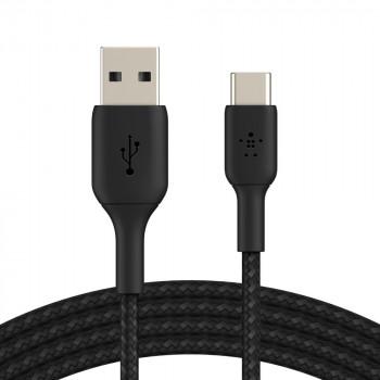 Belkin Πανίσχυρο Mαύρο Καλώδιο USB-A σε USB-C 2,0 μέτρα