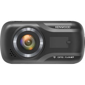 Kenwood Ευρυγώνια Full HD Καταγραφική Κάμερα Ταμπλό Αυτοκινήτου με Wifi και GPS